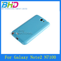 For samsung Note 2 TPU cell phone case with many colors