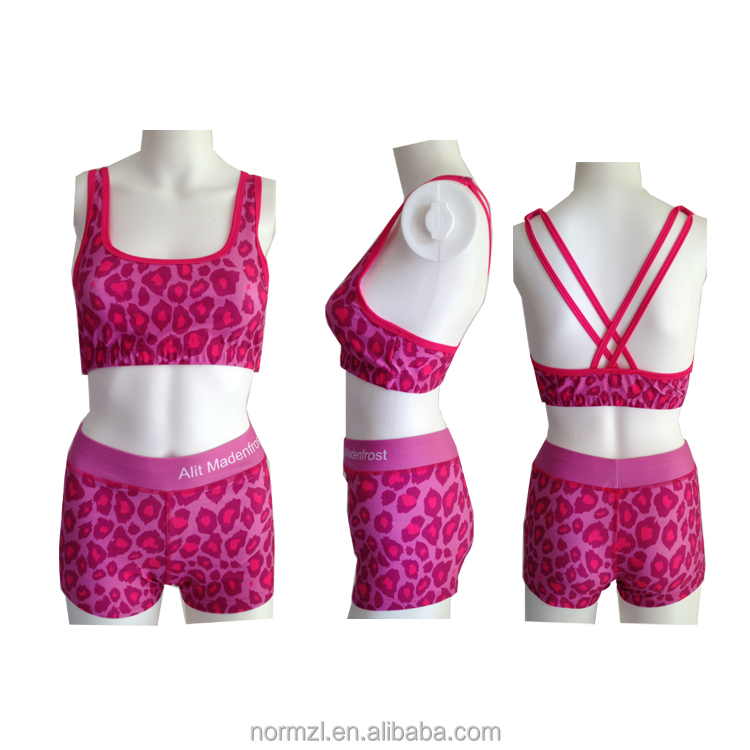 Manufacturers Wholesale Printing Yoga Wear Drop Shipping