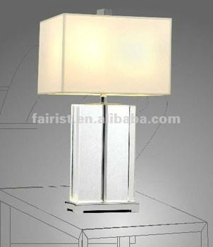 2011 new glass table lamp