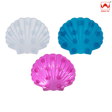 Bathroom Safety Popular PVC Shell Shaped Bath Mats Mini Size for Bathtub