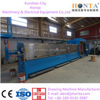 ( 8 wires )High speed multi wire copper drawing machine( machine factory )