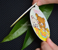 Guangzhou manufacturer car air fresheners/make hanging paper car air freshener