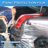 Transparent Car Painting Protective Sticker Wrap TPU Vinyl Film