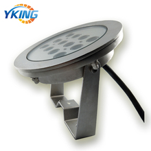 316 Stainless Steel IP68 Color changing 36W 3in1 LED dmx underwater fountain light