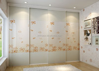 frosted glass sliding door wardrobe custom smart home furniture made