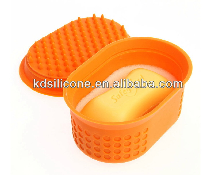 Travelling Box/Silicone Travelling Box/Container/Silicone Travel Soap Box