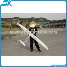 !ASW28 (759-1) big scale unibody like glass fiber flaps glider rc model rc toy airplane