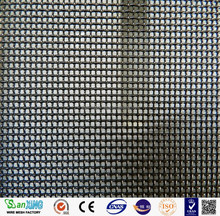 stainless steel security screen /stainless steel wire mesh for window & door 0.8mm x 11 mesh powder coated