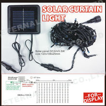 solar panel manufacturers in china, christmas outdoor solar curtain lights