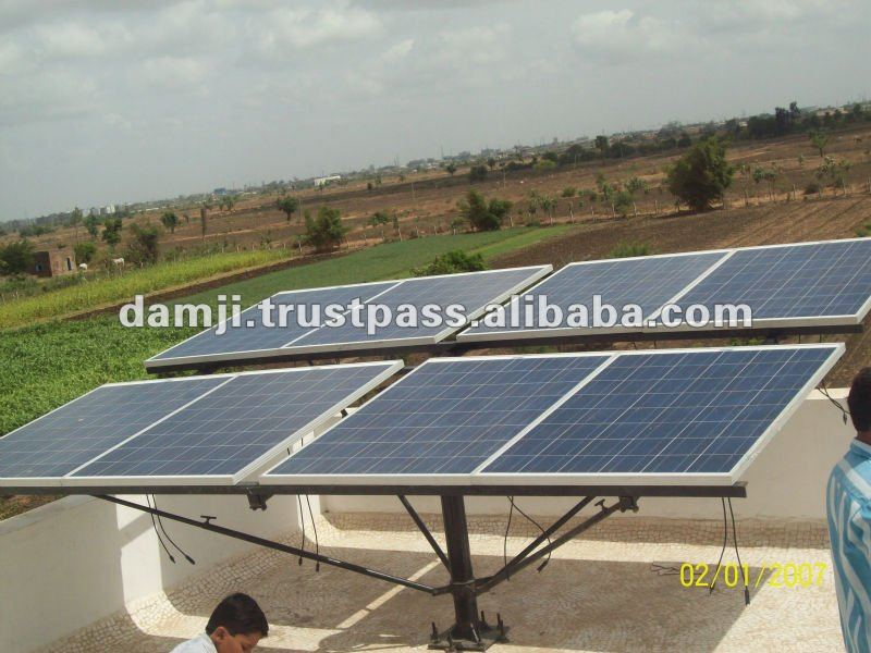 Solar project trunkey solution, with photovoltaic and thin film