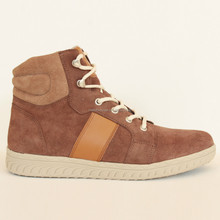 Latest designed Brown suede leather upper casual fashion shoes