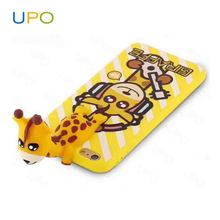 [UPO] New design Cute 3D Animal Phone Case,Shockproof Silicon Giraffe Hybrid Cell Phone Case for iPhone 7 Plus