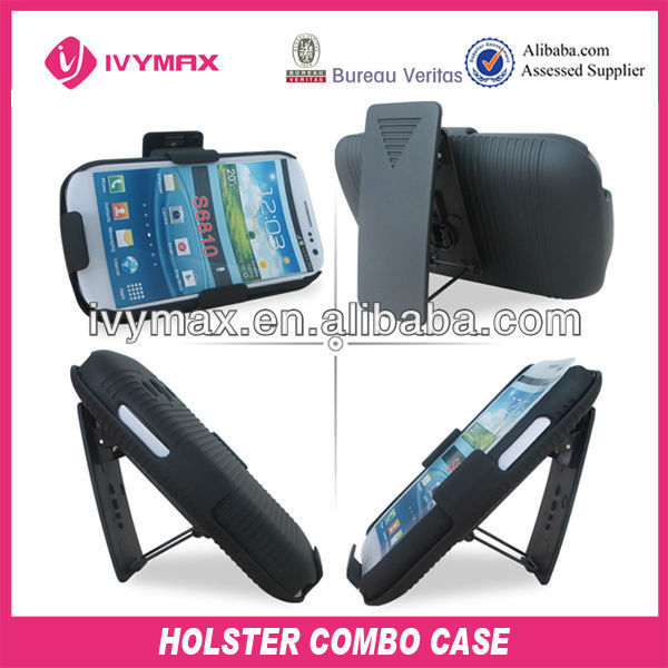 accessories for cellular Sumsung S6810 galaxy fame mobile phone pouch stand case