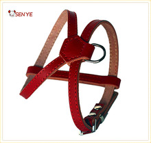 Professional Top Quality Outdoor Sports Pet Traction Safety Protection Leather Dog Harnesses For Small Dog