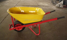 heavy duty high quality metal tray and pneumatic wheel wheel barrow with D ring WB8633