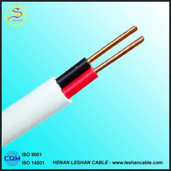 Copper Conductor PVC Insulated and Sheath Flat