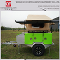 camper trailer stainless steel kitchen Roof top tent camper trailers