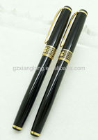 STC1006 Elegant metal roller pen with wire drawing process can make your logo for promotion gift MOQ is 50pcs