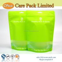 Plastic stand up pouch laminated chia seeds packaging bags