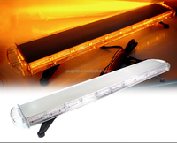 "Sale!!!Rooftop 220W LED 47"" 16 Modes Emergency Car Truck Flash Strobe Light Bar Amber LBUT-C207"