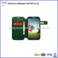 2013 Hot Sale High Quality Leather Case for Samsung Galaxy S4 Paypal Acceptable