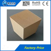 cordierite Honeycomb Ceramic monolith catalytic converter substrate, ceramic gas filter &Car Ceramic