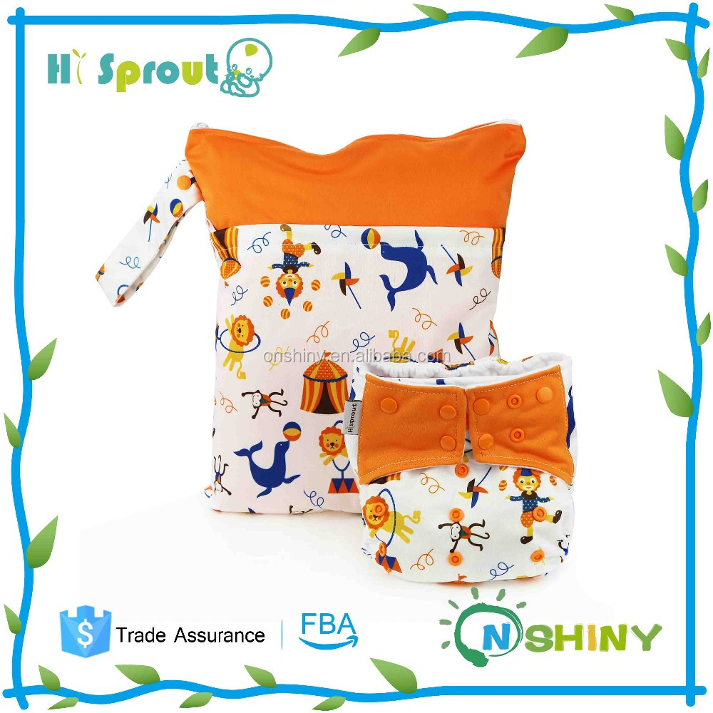 Free Shipping Baby 2015 Reusable and Washable Eco-friendly Baby Diapers New Prints Cloth Diaper