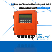 elbow fixed type multiphase ultrasonic flowmeter