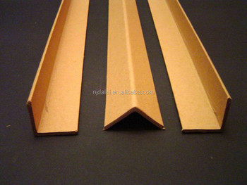 Kraft Paper Material and Edge Protector Type edge protector