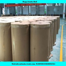 BOPP Material and Acrylic Adhesive Bopp Packing Tape Jumbo Rolls