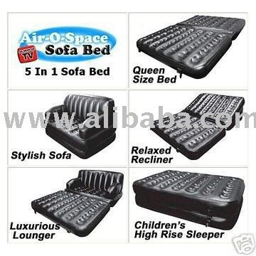 5 X 1 AIR SOFA BED WITH ACCESSORIES