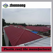 Manufacturer supplier plastic roofing shingles