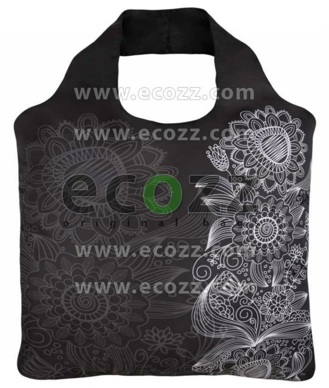 Reusable shopping bag ECOZZ Black & White 3