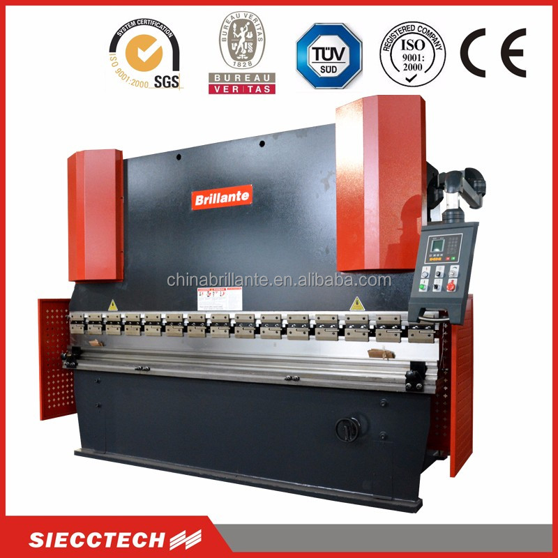 WF67Y/<strong>K</strong> 125 ton 2500mm hydraulic plate bending machine and press brake