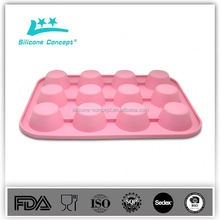 Non-stick silicone disposable microwave baking pans