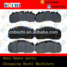 Best selling high performance top quality ceramic automotive brake linings