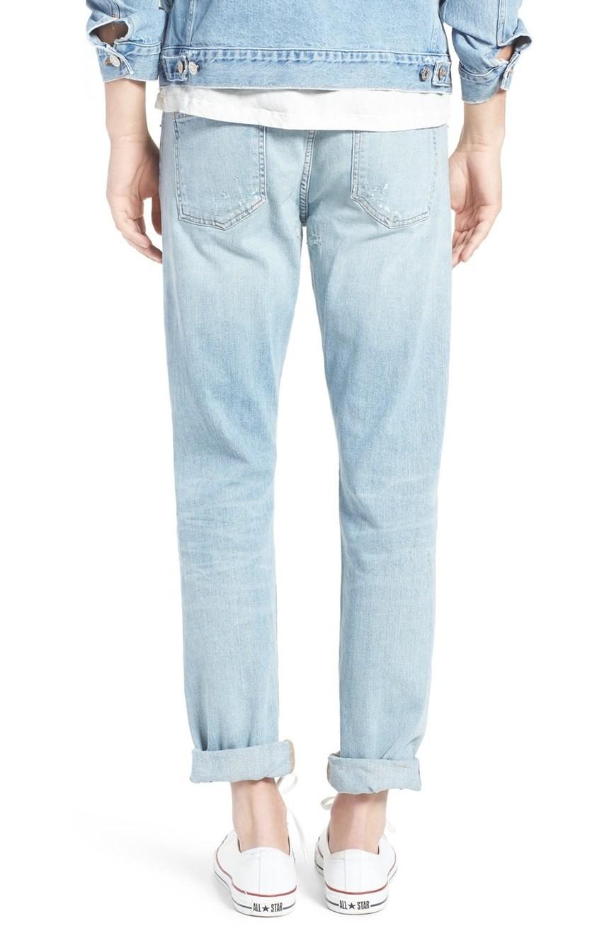 2016 latest design custom mens skinny fit ripped Jeans ...