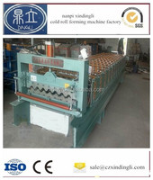 roll forming production line,color steel roof and wall tile making machine