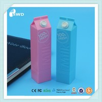 Milk power bank 2015 new Fashion powerbank 2000mah Milk mobile power bank external battery new power bank