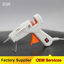 Industrial glue gun 30w wholesale waterproof mini mini hot melting glue gun