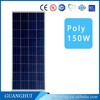 Cheap high efficient system poly 100W 110W 120W 130W 140W 150W solar panelsolar panel cleaning equipment