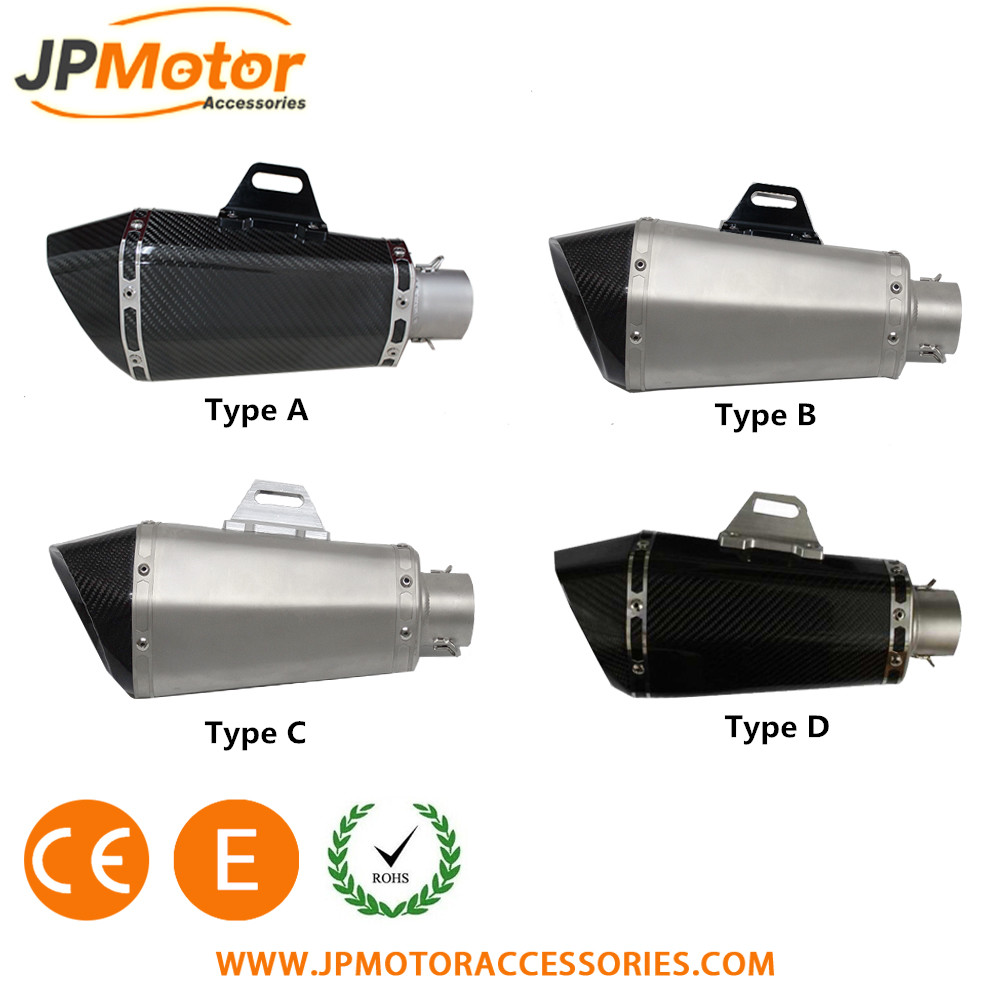 JPMotor high quality performance exhaust muffler motorcycle