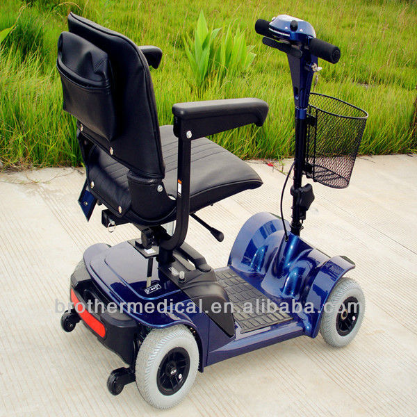 4 wheels mobility scooter for elderly and disabled with ce for Motorized scooters for elderly