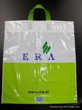 plastic pasta packaging bag,non plastic trash bags,flat die cut handle plastic bags