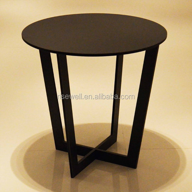 Debo compact laminate panel restaurant table coffee shop black tables