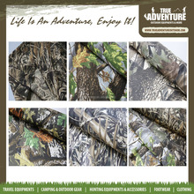 100% polyester new design outdoor hunting adventure waterproof camouflage fabric
