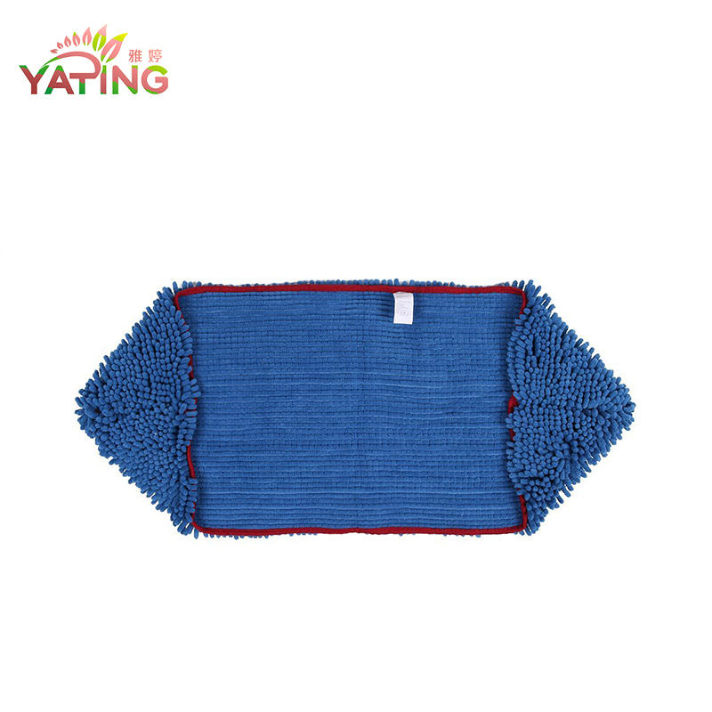 China Supplier chenille microfiber pet towel with pocket