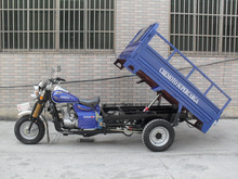 Three Wheel Motor Tricycle Motorcycle Hydraulic Cargo Tricycle