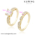13686 xuping mens zircon 14k plated gold ring, couple engagement wedding rings for women, synthetic diamond rings jewelry women