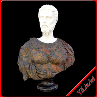 Hand Craved Indoor Life-Size Marble Bust Statue (YL-T026)
